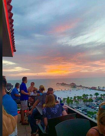 Sunset Celebration.