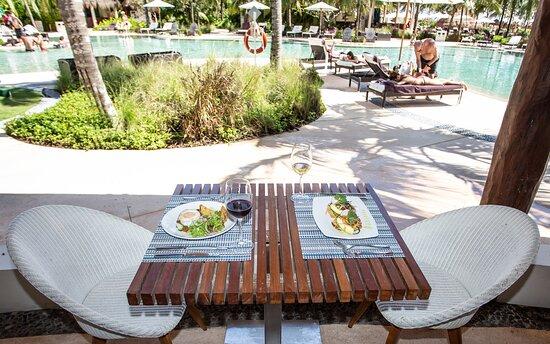 Seaside restaurante - Secrets Akumal