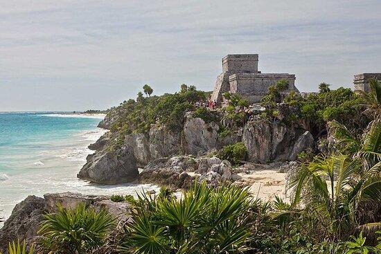 Fire steder i ett - Coba, Tulum, Cenote...