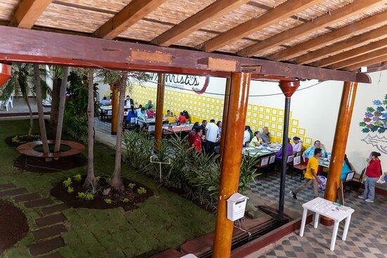 detalle del patio jardin