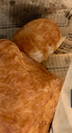 Hair in the croissant
