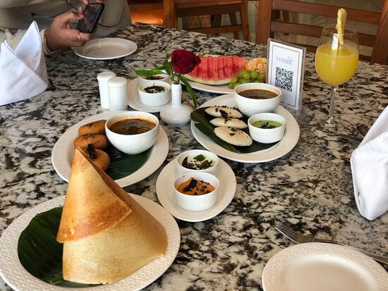 South Indian breakfast @ Levant