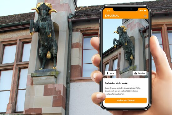 Schnitzeljagd durch die Schaffhauser Altstadt (Explorial Trail)