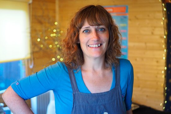 Cheryl Barnes, owner of Cosmic Teapot