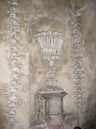 Kutna Hora, The Cemetery Church of All Saints with the Ossuary