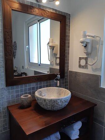 Chambre Bali - vasque marbre