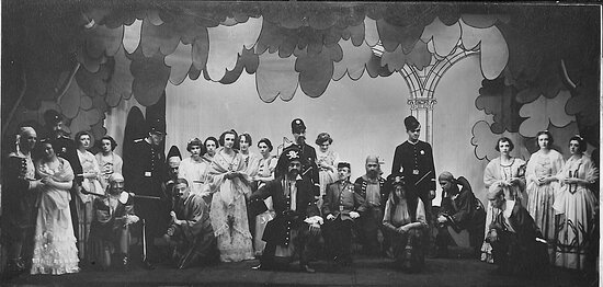 The Des Moines Playhouse has presented a season of musicals, comedies, dramas, and family shows every year since 1919. Pictured: The Pirates of Penzance, 1934-35 Season.