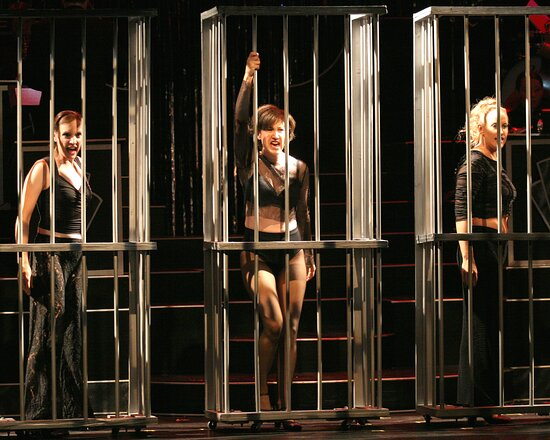 The Des Moines Playhouse has presented a season of musicals, comedies, dramas, and family shows every year since 1919. Pictured: Chicago, 2005-06 Season.