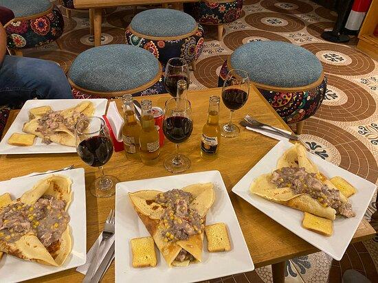 Guatavita, Colombia: ¡Pregunta por este delicioso plato, ideal para la cena con tus amigos o con tu pareja!