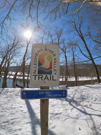 Allegany, NY: River Valley Trail