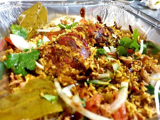 Sufians Tandoori Chicken Biryani