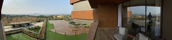 This is the PANO view from the entire Lake View Room