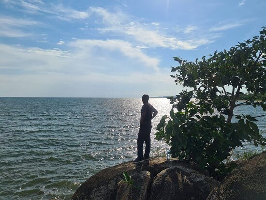 It was a great time for exploring the Lake Victoria after cycling about 10km through rural areas of Ukerewe Island.
