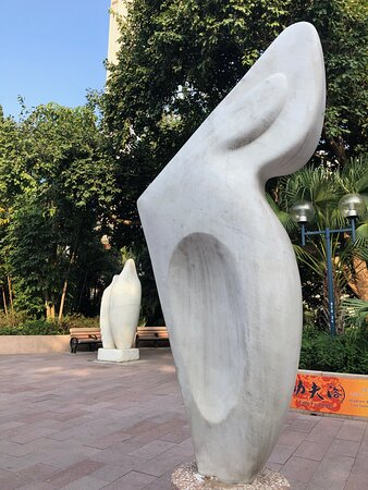 The Sculpture Garden inside Kowloon Park has 20 or so sculptures by local and international artists.