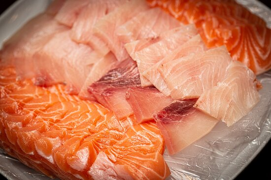 Sushi Platte von Kisu Sushi Bar & Vietnam Restaurant Frankfurt  https://kisu-restaurant.de/