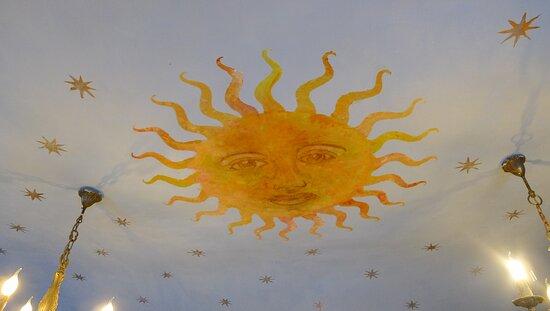 Tarare, Франция: Plafond de la chambre de l'Astrologue