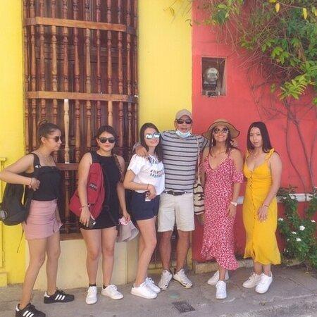 Cartagena, Colombia: Terminando recorrido por Getsemaní y sus grafitis