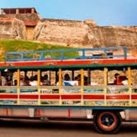 Carthagène, Colombie : City tour en bus típico por 4 horas en Cartagena de indias