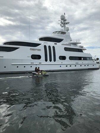 More 3 hour jet Ski Million Dollar Yachts!