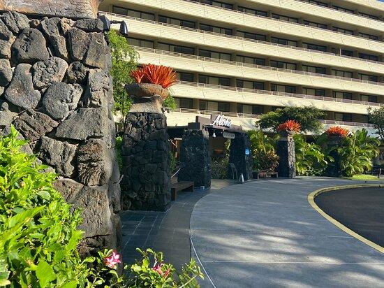 Entry to Royal Kona Resort