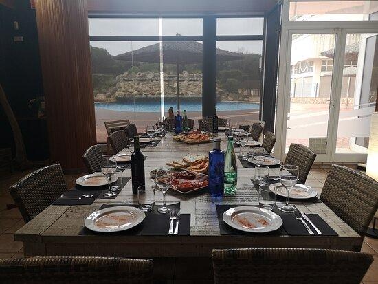 Blanes, Spain: EL MOMENT ... Comida de muy buena calidad... El recinto ... La decoración muy acogedora... El personal  muy eficiente... El Chef  Terry que es el propietario. Muy atento y nos deleito con sus creaciones.