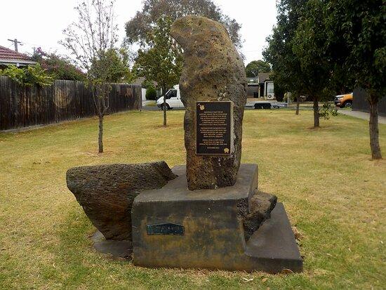 Altona Coal Mine Monument