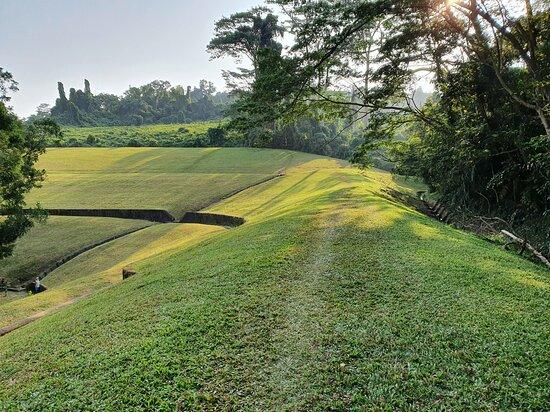 contour slope of Bukit Gombak