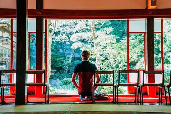 Small-Group Zenpoji Temple Zen Experience in Yamagata