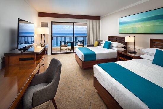 Double/Double Deluxe Ocean Front Guest Room