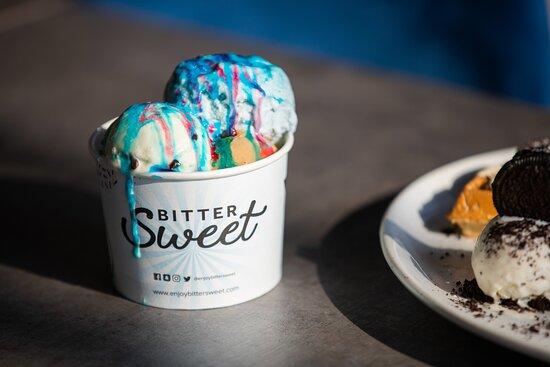 Oldham, UK: Delicious creamy gelato ice cream