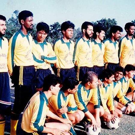 Lahore, Pakistan: UET FOOTBALL TEAM 1991
