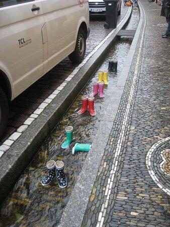 Mittel gegen nasse Füße