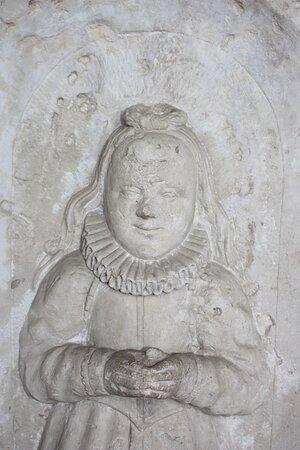 Imperial Palace of Goslar memorial slab for Elisabeta von Schwicholt 1568