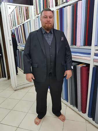 BESPOKE SUIT FROM SUIT FITTER
