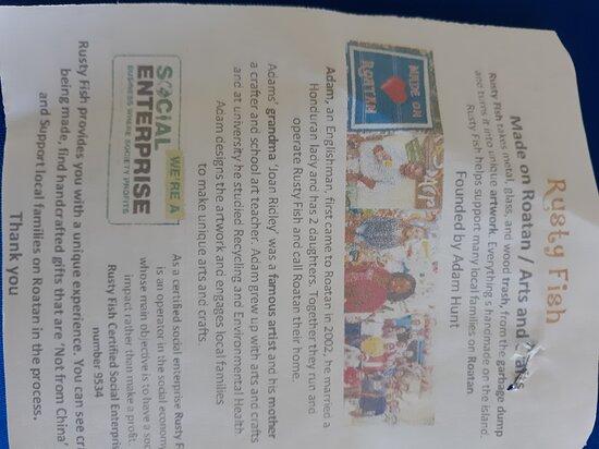 Informational flyer (back)