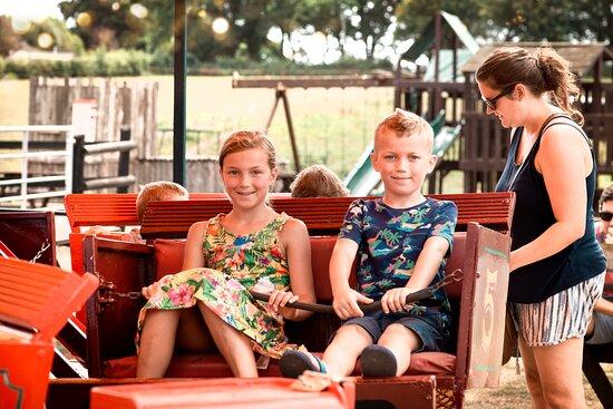 Vintage fairground rides  Dorset Heavy Horse Farm Park