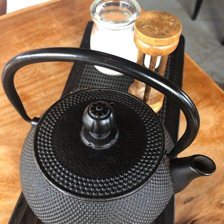 Mangawhai Heads, New Zealand: Tea service