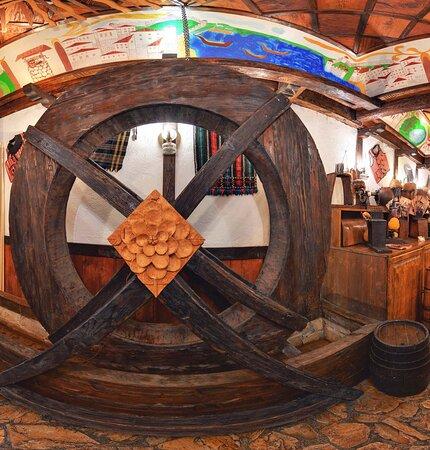 Big water wheel
