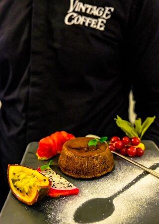 Souflè whith fruits