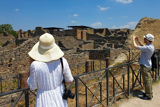 Full-Day Pompeii and Vesuvius Tour with ...