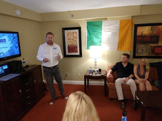 Las Vegas, NV: Irish Whiskey class