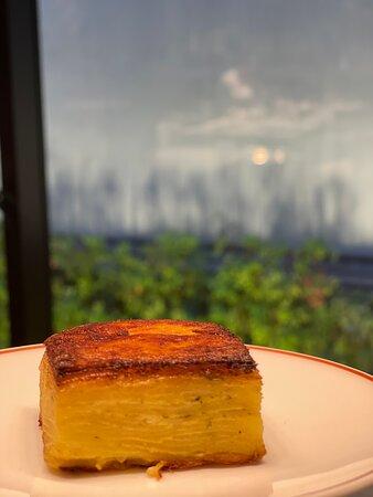Mini potato lasagna.