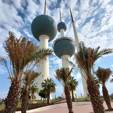 Kuwait today is a beautiful breath of air. It was a beautiful day