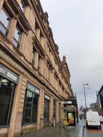 Architecture in Liverpool Commercial District