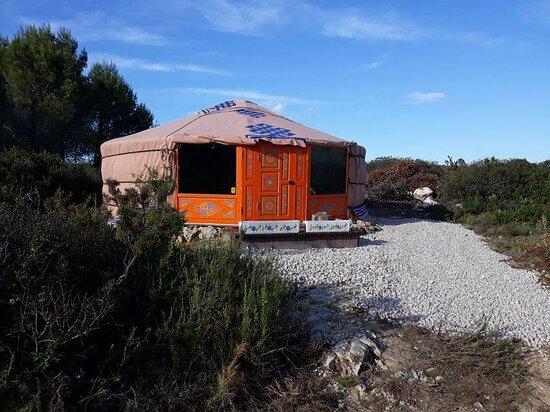 Vall de Ebo, España: Yurtas muy guays