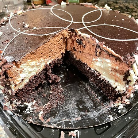 Feb. 2021  dark Chocolate Cake
