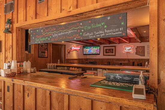Creekside Tavern - weekly specials  *hours vary based on the season