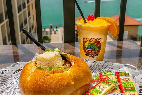 Our New Orleans style gumbo and frozen rum runner are an amazing combination.