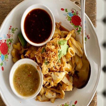 Garlic Grilled Squid