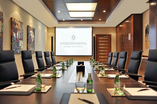 Boardroom Equipped with the Latest Technology